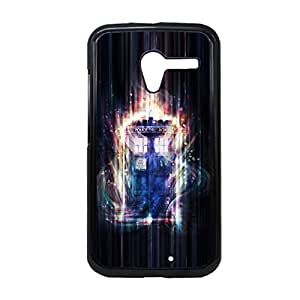 Generic Silica Protective Phone Case For Children Printing With Tardis For Moto X Choose Design 10