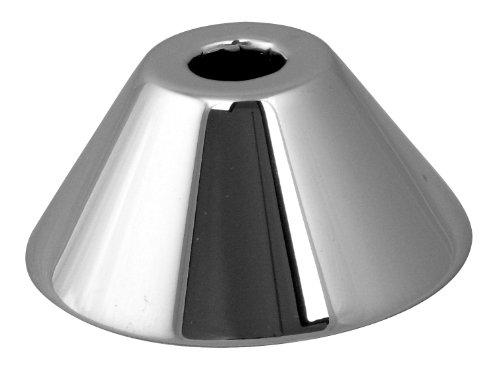 "Westbrass D1281-12 5/8"" OD Bell Pattern Sure Grip Flange, Oil Rubbed Bronze by Westbrass"