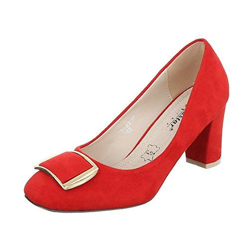 Rot Damenschuhe Ital Pumps Heel High Pumps High High Heels Design Pumps Pump Heel TxwxqgB7R
