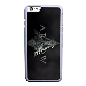 Generic Fashion Hard Back Case Cover Fit for iPhone 6 6S plus 5.5 inch Cell Phone Case white Green Arrow STR-3311432