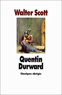 Quentin Durward par Scott