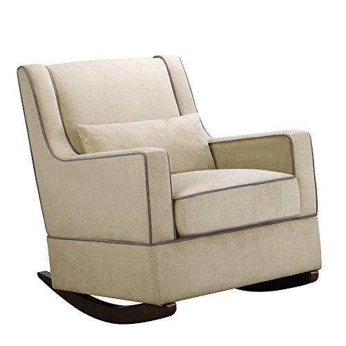 Baby Relax The Sydney Nursery Microfiber Rocker Chair and Free Lumbar Pillow, Beige by Baby Relax