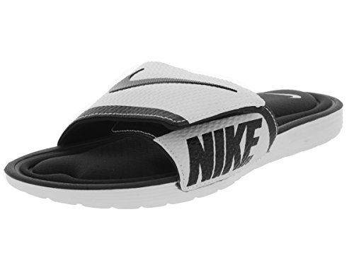Nike SolarSoft comfort Slide sandalo Black/White
