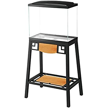 Amazon.com : Aqueon Forge Metal Aquarium Stand, 20 by 10 ... 10 Gallon Fish Tank Stand Metal
