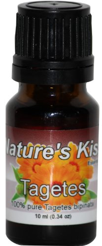 Nature's Kiss 10ml Essential Oil, 0.34-Ounce, Tagetes