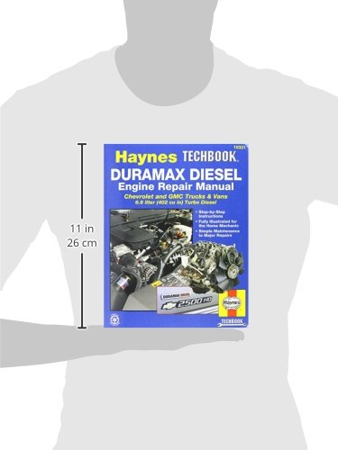 haynes techbook duramax diesel engine repair manual 2001 2012 rh amazon com Silverado Duramax Duramax 6-Speed Manual Transmission
