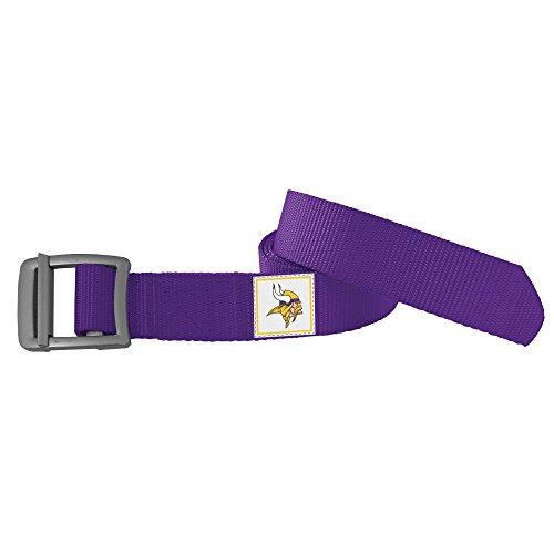 NFL Minnesota Vikings Field Belt, Small/Medium - Minnesota Vikings Belt Buckle