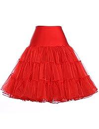 GRACE KARIN Women's 50s Petticoat Vintage Crinoline Underskirts S-3X