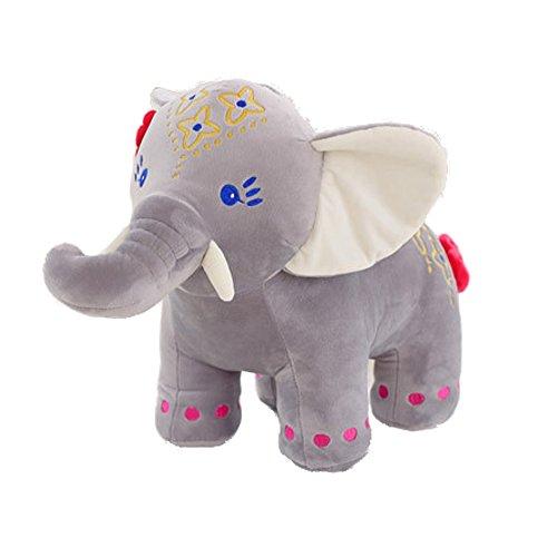 Cute Elephant Doll Creative Toys Plush Stuffed Toy Baby Birthday Gift Furniture Decoration 11.8