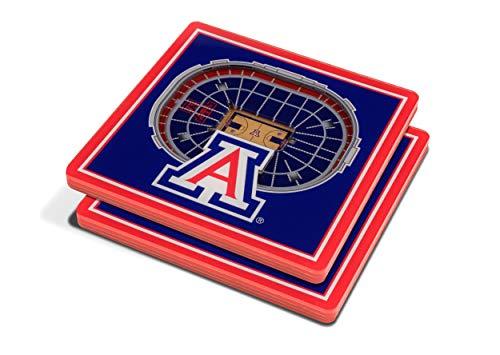 - NCAA Arizona Wildcats 3D StadiumViews Coasters