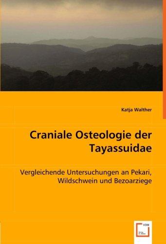 Craniale Osteologie der Tayassuidae: Vergleichende Untersuchungen an Pekari, Wildschwein und Bezoarziege (German Edition) ebook
