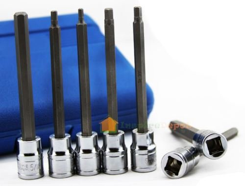 7-pc-extra-long-hex-bit-socket-allen-wrench-set-sae-tool-w-case-chrome-vanadium