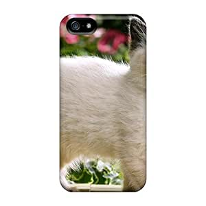 Awesome LastMemory Defender Tpu Hard Case Cover For Iphone 5/5s- Small Kitty