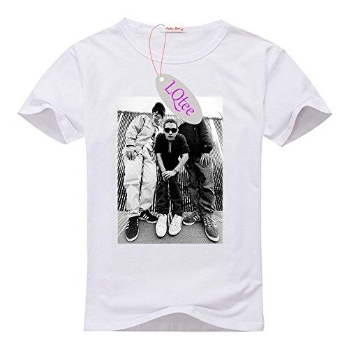 Personalized Beastie Boys Baseball Tee-shirt, Brand New Women's O-neck Tshirts at LQtee