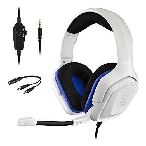 🥇 G-LAB KORP Cobalt PS4 Gaming Headset – Stereo Audio Gaming Headset