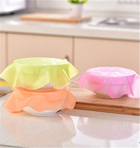 Cartoon Silicone Cover Special Microwave Oven Cover Refrigerator Fresh-keeping Film Lid Sealing Cover Dish Bowl Cover