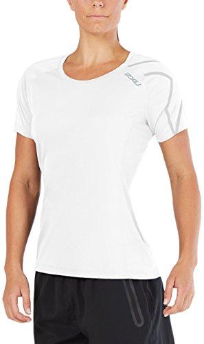 blanco para U Bsr activa camiseta Woman blanco 2 manga x corta de CznFxvW