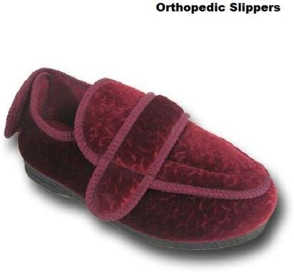 Ladies Womens Orthopaedic Double Velcro