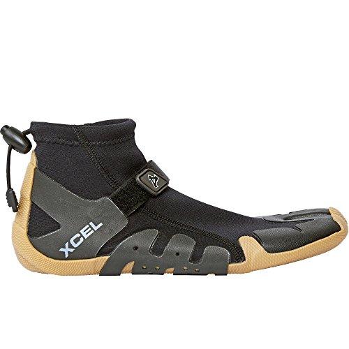 Xcel Infiniti Split Toe Reef Boots, Black/Gum, Size 7/1mm