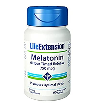 Image Unavailable. Image not available for. Color: Life Extension Melatonin ...
