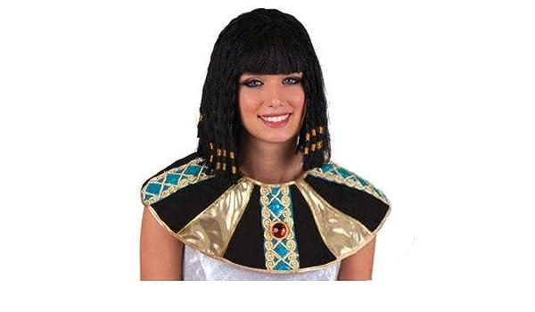 Lote/Conjunto DE 12 Piezas - egipcia Cleopatra Peluca: Amazon.es: Juguetes y juegos