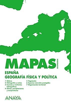 España: geografía física y política.: Amazon.es: Anaya Educación ...