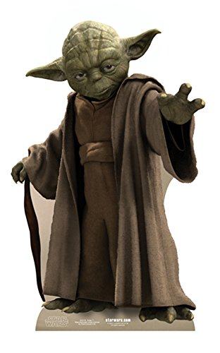 (Star Cutouts Cut Out of Yoda)