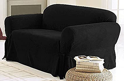 Charmant Green Living Group Chezmoi Collection Soft Micro Suede Solid Couch/Sofa  Cover Slipcover With Elastic