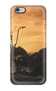 Hard Plastic Iphone 6 Plus Case Back Cover,hot Girls And Motorcycles Case At Perfect Diy