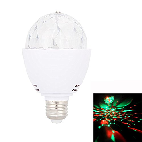 LED Blacklight Bulb, LED UV Stage Light,Ultraviolet Blacklight Bulb,3W 390nm,Ultra Violet LED for Parties Blacklight Poster,Club by MeiBoAll