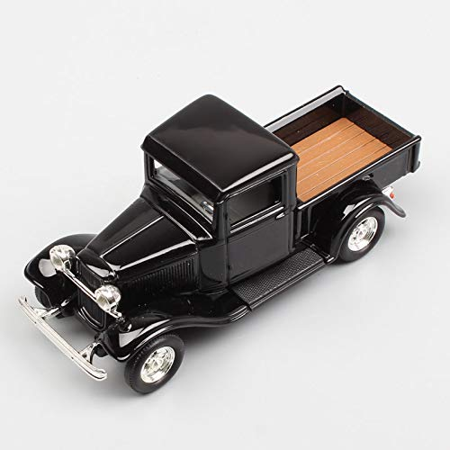 GreenSun 1:43 Scale 1934 The Ford Pick up Truck Van diecast Model car Toy Autos Miniatures Hobby for Children Black