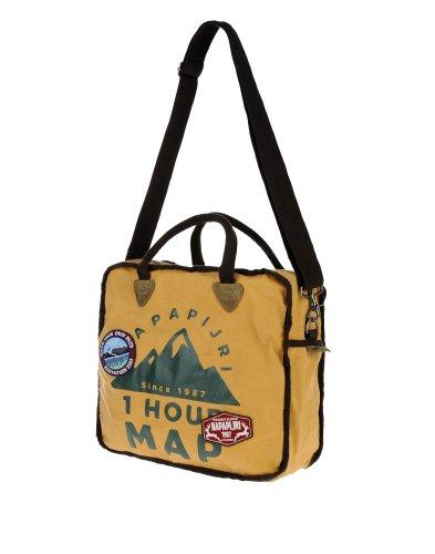 Men's Top Napapijri handle Bag Yellow Honig a8wq7xw