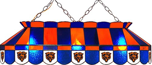 Imperial NFL Chicago Bears Stained Glass Pool/Billiard Table Light - New!!!