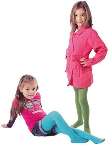 3 /à 14 ans, Lot de 3 paires de collants unis pour filles en microfibre 40 deniers age