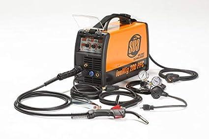 2eb51a0ad432 SÜA ionMig 200 Multiprocess MIG/TIG/STICK Welder, 110/220 V. Generator  Friendly