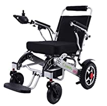ComfyGO Best Rated Exclusive Deluxe Electric Wheelchair Motorized Fold Foldable Power Wheel Chair, Lightweight Folding Carry Electric Wheelchair, Powerful Dual Motor