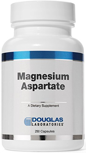 Douglas Laboratories - Magnesium Aspartate - Supports Normal Heart Function, Blood Pressure, and Bone Formation* - 250 Capsules