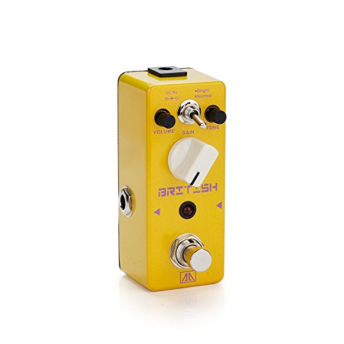 Midi Guitar Effects (AA - APN-5 British True Bypass Mini Portable Guitar Effects Pedal for Guitar Bass)