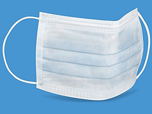 Earloop White Face Mask 12 Pc High Filtration Efficiency(Medical Supplies)