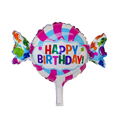 [Candy Foil Balloons Happy Birthday party air Balls inflatable Ballons lovely] (Dance Central Character Costumes)