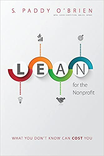 Book Lean for the Nonprofit: What You Don't Know Can Cost You