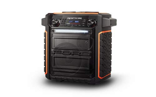 ION Audio Raptor | Portable Wireless Speaker 100-watt Water-Resistant with Bluetooth Streaming
