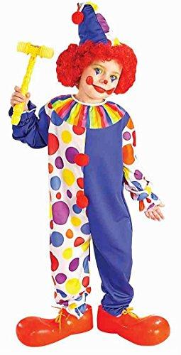 Classic Clown Kids Costume