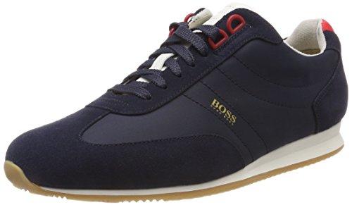 Blue Sneakers Low Orange Mens Blue Hugo Boss Orland Boss 8qAwnCgxv