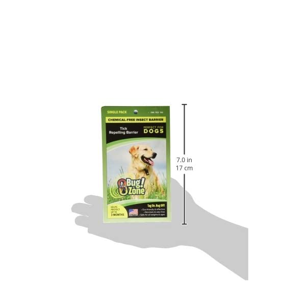 0Bug!Zone Dog Tick Barrier Tag, Single Pack Click on image for further info. 3