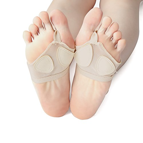 Orteil Ventre Avant Ballet Semelle Élastique Danse pied Paire Du Tampons Sourcingmap Danseuse 1 qwAaz44g
