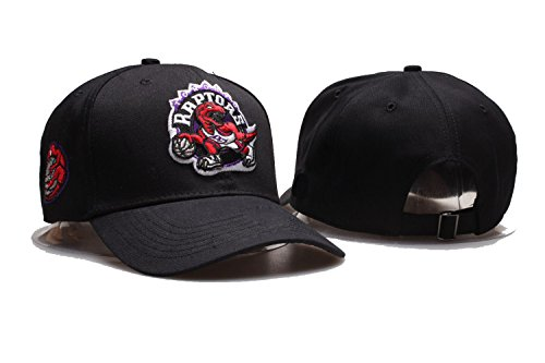 JOE JOURNEYMAN Toronto Raptors NBA Mens Team Logo Sport Baseball Cap Adjustable Plain Hat (One Size, Toronto Raptors15)