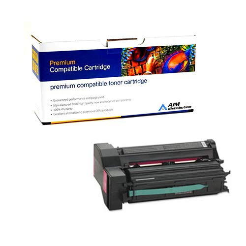 - AIM Compatible Replacement for IBM InfoPrint Color 1764 Magenta Extra High Yield Toner Cartridge (15000 Page Yield) (39V1925) - Generic