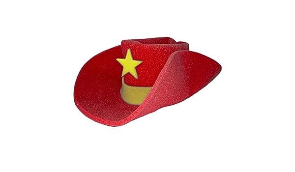 Amazon.com  Jacobson Hat Company Giant Red Foam Cowboy Western Novelty Hat   Clothing 6e3aa8e8c
