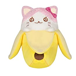 Bananyako Plush | Pink & White | Bananya Plush 8